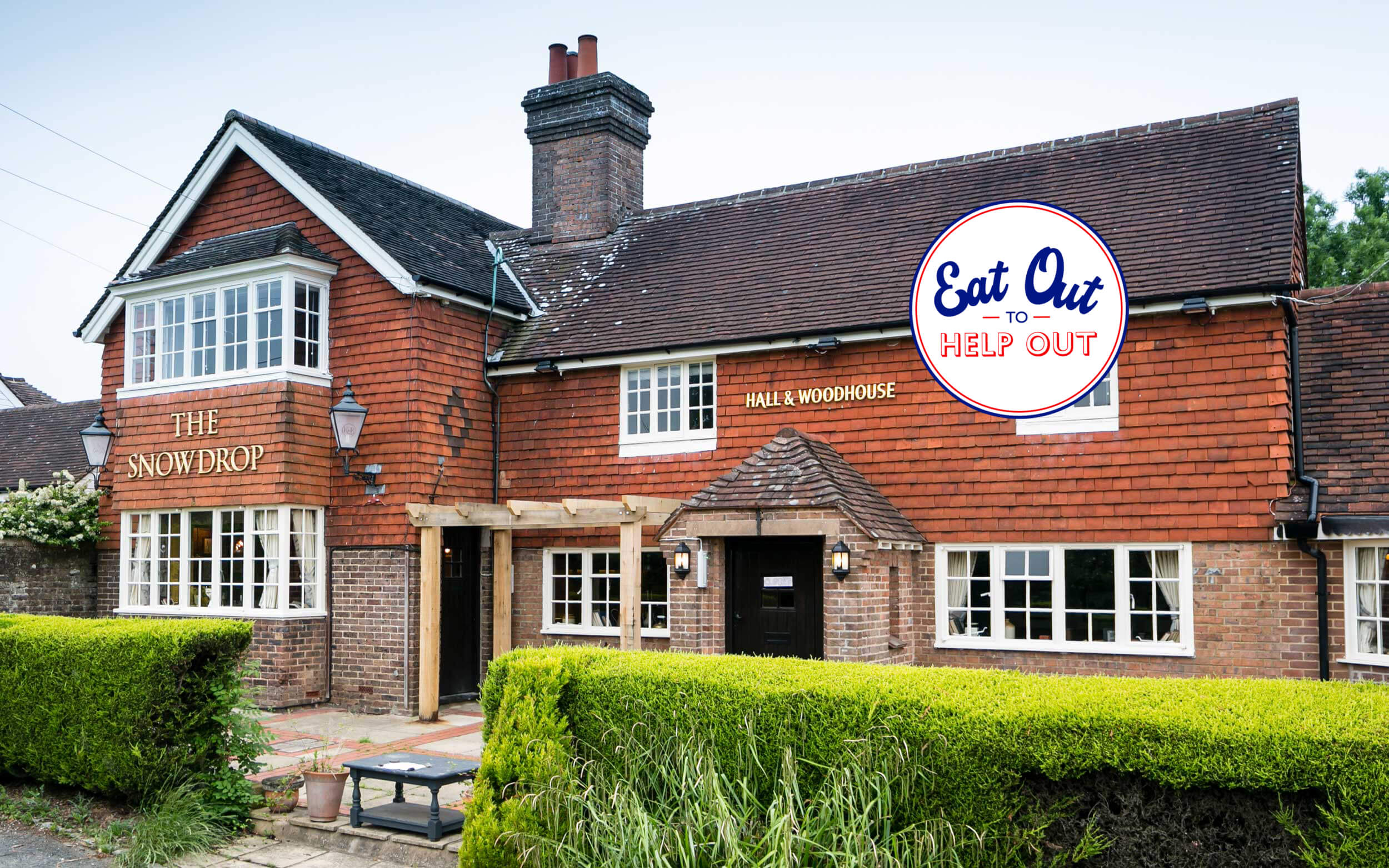 The Snowdrop Inn is happy to be a part of the Eat Out to Help Out promotion